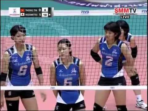 Vietnam vs Japan - 2014 Asian Women's Club Championship