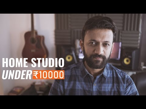 How To Build A Home Studio Under 10000 🎧 Hindi | India