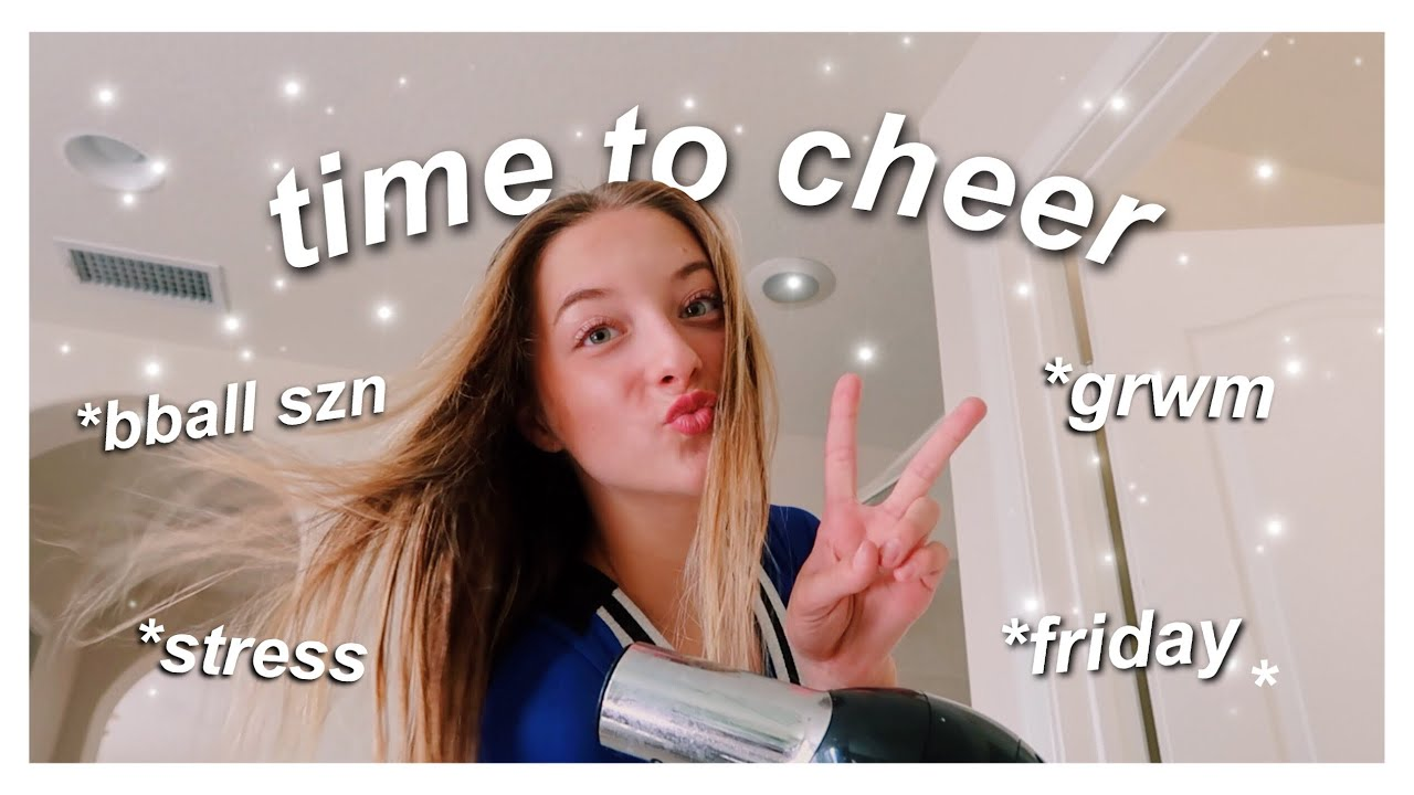 Grwm For A Basketball Game Cheer Edition Youtube Thank you for watching me get ready for a football game! youtube