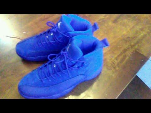 JORDAN 12 BLUE SUEDE DHGATE REVIEW