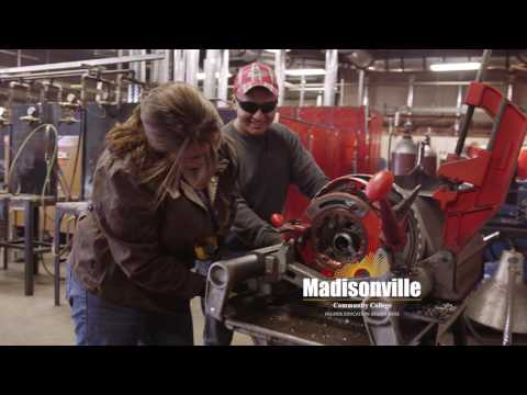 Madisonville Community College television spot for fall enrollment.
