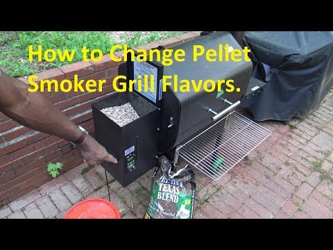 How to Change Wood Pellet Smoker Grill Flavors from YouTube · Duration:  3 minutes 51 seconds