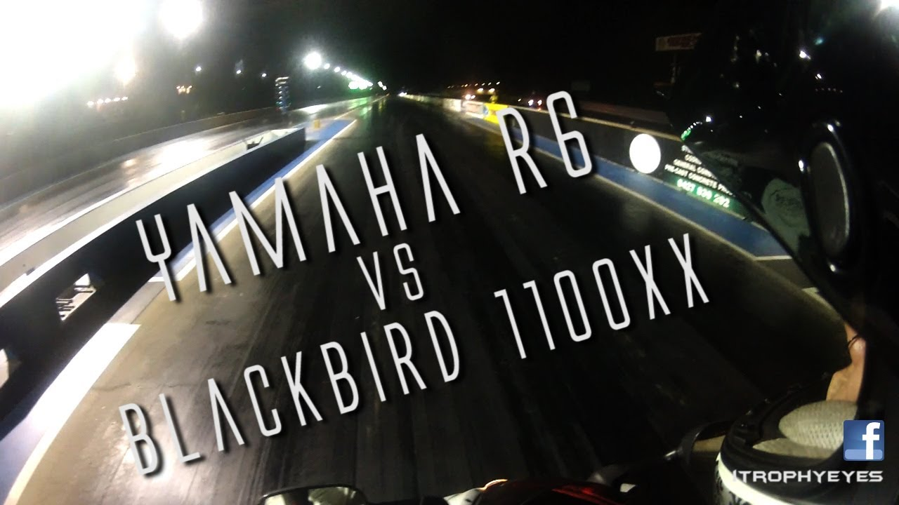 Honda Blackbird Drag Strip - Naked Photo-9691