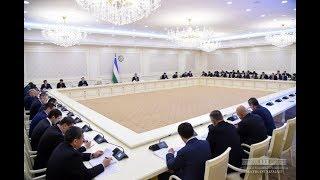 Президент Узбекистана 22 ноября провел совещание по развитию банковской системы (