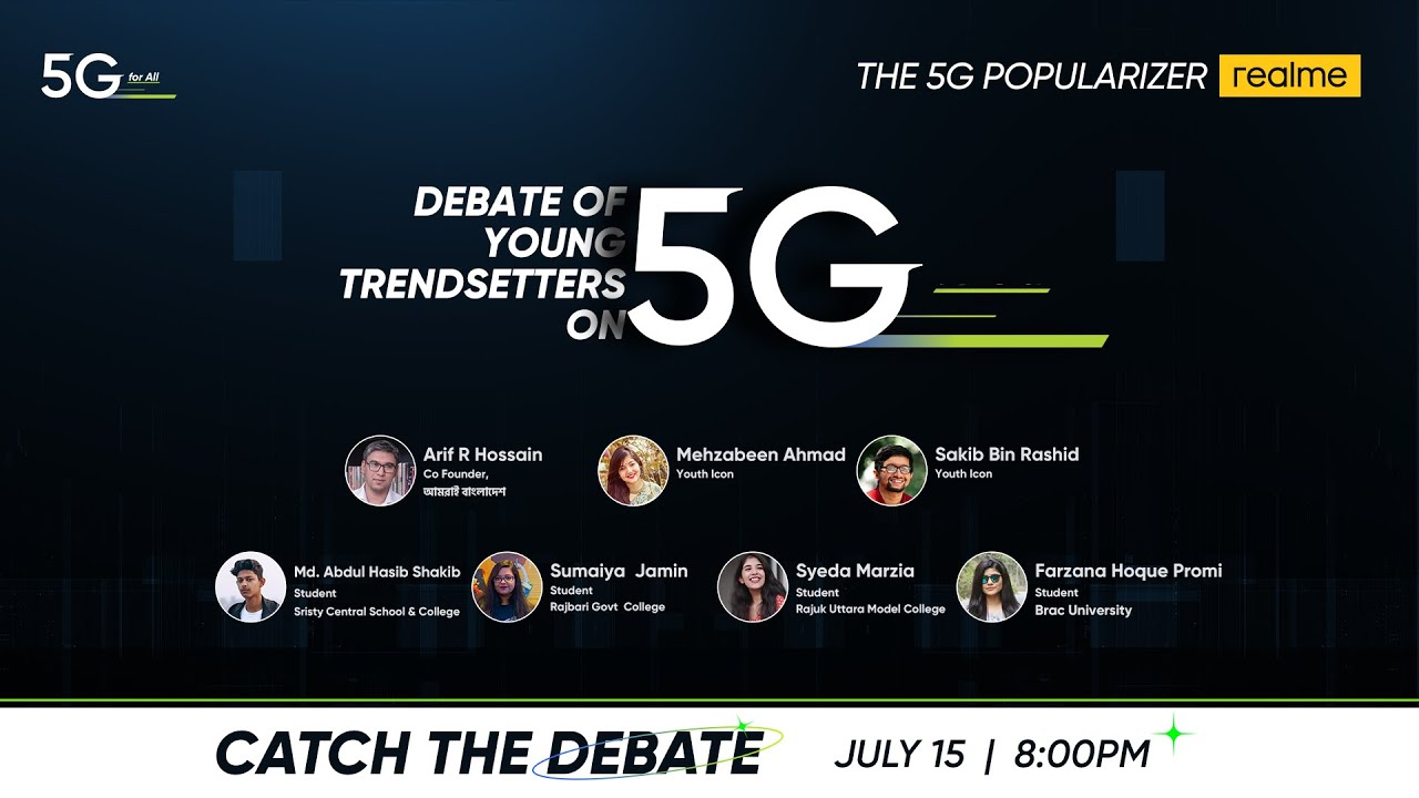 Young Trendsetters Debate on 5G   Recap