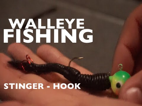 Stinger Hook Rigging - Walleye Fishing Tips With Ian Jones