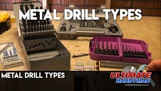 Metal drill types