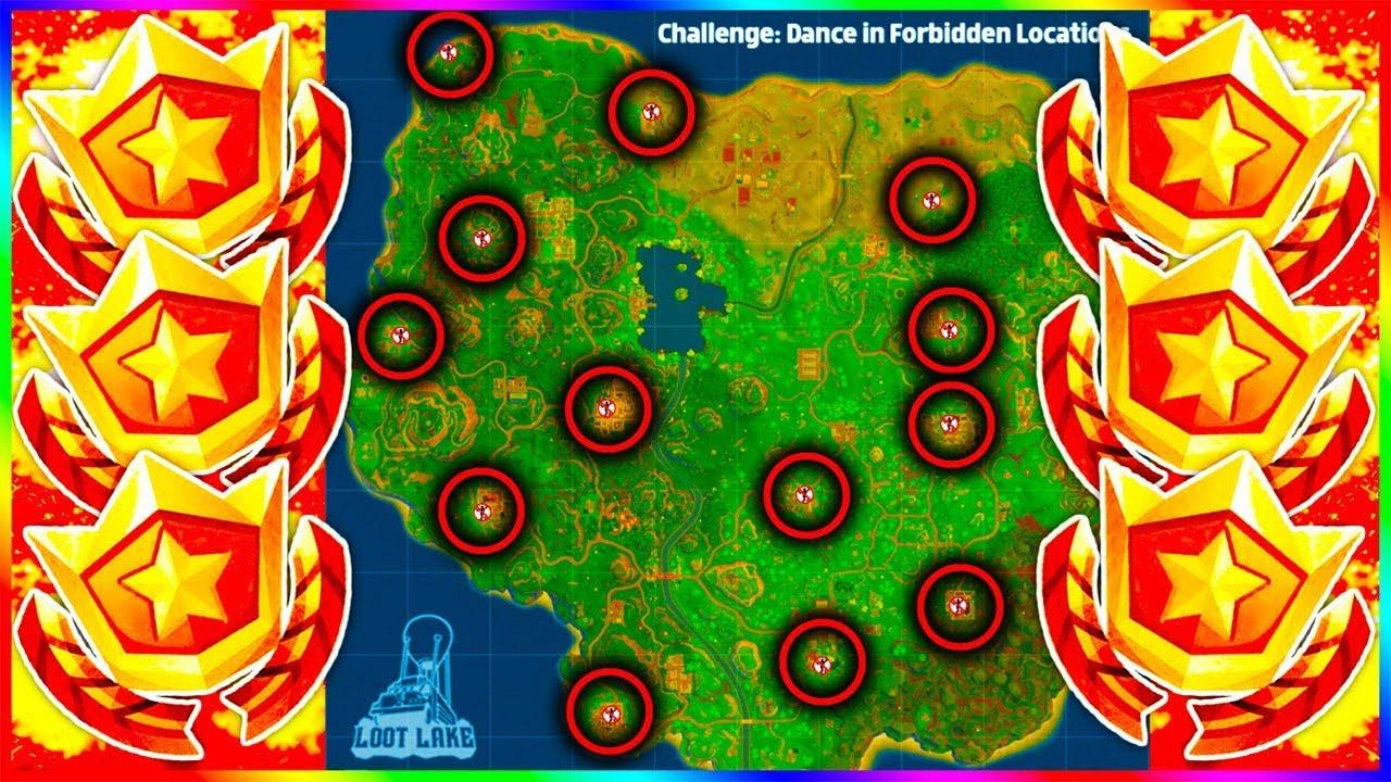 forbidden dance fortnite