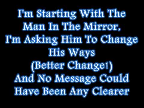 Michael Jackson  Man In The Mirror Lyrics