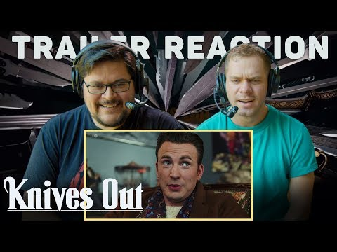 Knives Out – Official Trailer Reaction