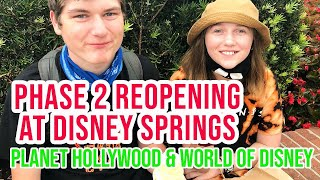 Disney World is Opening! Live from Disney Springs and Planet Hollywood