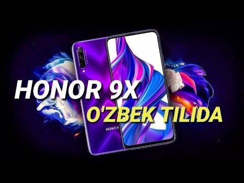 HONOR 9X -O'ZBEK TILIDA REDMI NOTE 8NING RAQIBI !!!