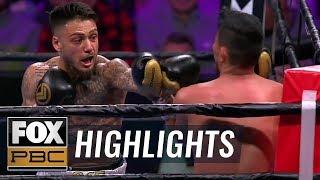 Austin Dulay TKOs Yardley Armenta Cruz in the 3rd round | HIGHLIGHTS | PBC ON FOX