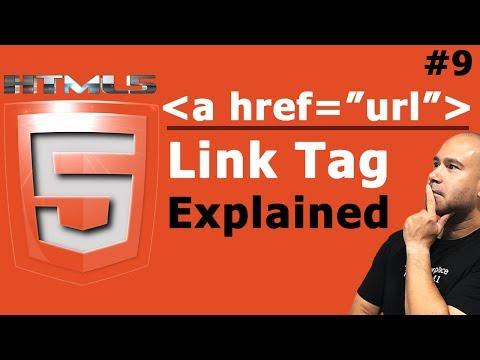 HTML Link Tag - Internal & External Links In HTML - Tutorial For Beginners