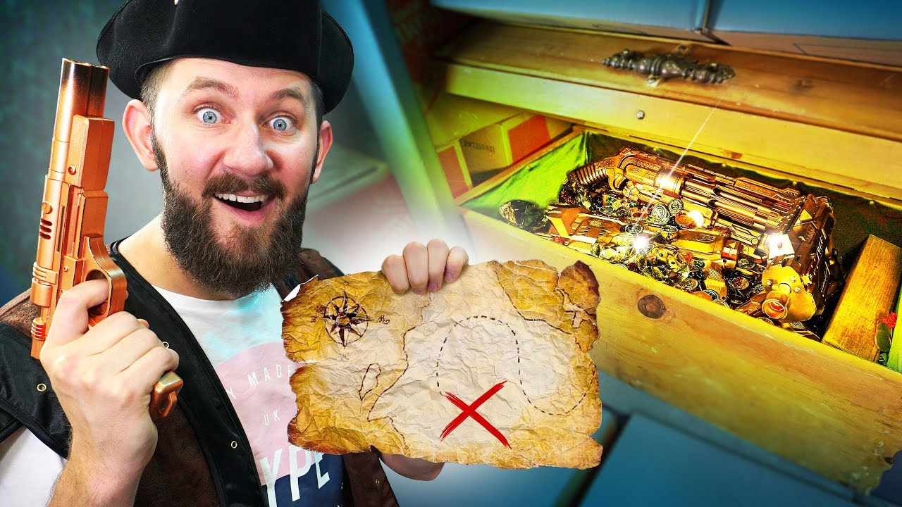 nerf-battle-for-the-treasure-chest-challenge
