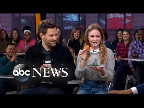 'For the People' stars join ALS Pepper Challenge