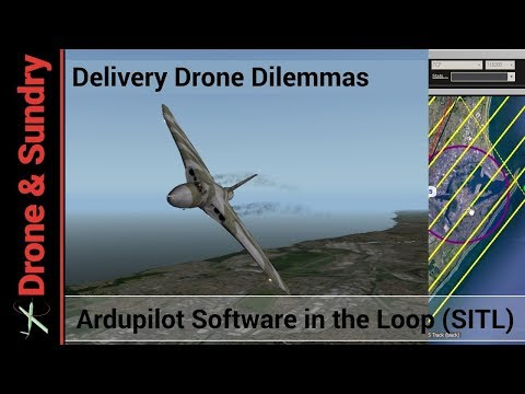 Drone Deliveries and an ADS-B protection corridor
