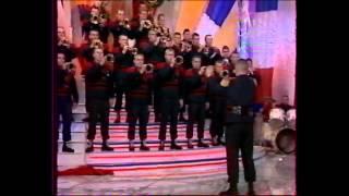 """Orchestre sapeurs-pompiers Yvelines et """"la Chance aux chansons"""" de Pascal Sevran. Sainte Barbe 1999"""
