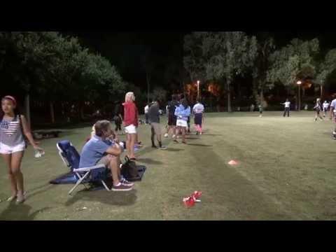 Patriots vs Falcons (10-9-15) - Matt Leinart Flag Football League