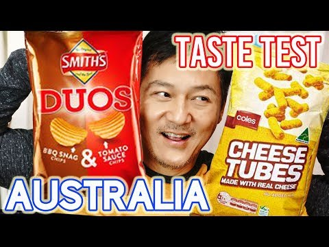 Amazing Australian Snacks Taste Test