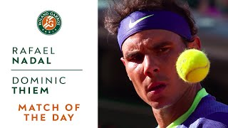 Match of the day #12 - Rafael Nadal v Dominic Thiem | Roland-Garros 2017