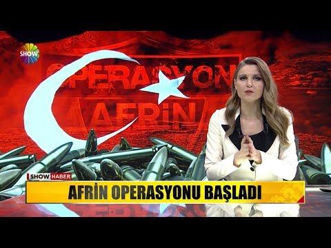 Afrin Operasyonu Başladı