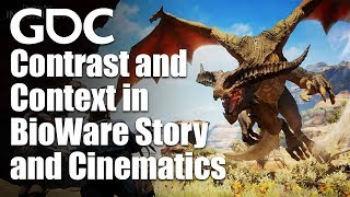 Contrastive Juxtaposition: Contrast and Context in BioWare Story and Cinematics