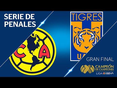 TANDA DE PENALES | América 0 - 0 Tigres UANL | Campeón de Campeones - 2019