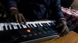 Yamla pagla deewana piano by muslehuddin Ahmed with karaoke