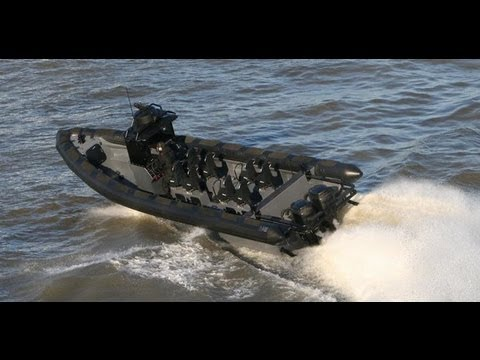 Pontoon Boat Seats For Sale >> Military Commando RHIB Airdrop & Boarding at high speed ...