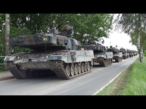Bundeswehr Manöver Heidesturm