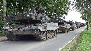 Bundeswehr Manöver Heidesturm 2017 Panzer voran! Allerübergang Jeversen Leopard Marder Boxer