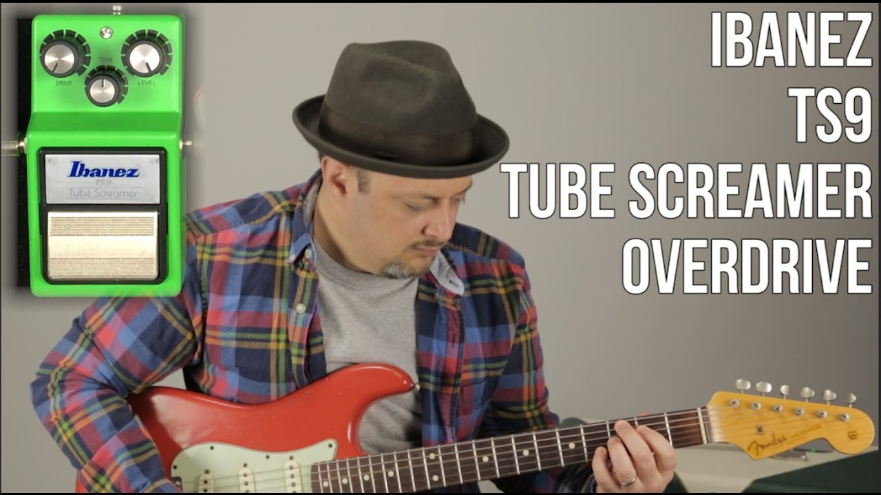Ibanez Tube Screamer TS9 - Guitar Pedal Review and Demo