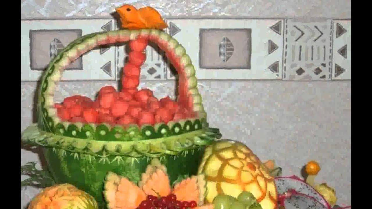Gemüse Deko Schnitzen Fotos Youtube