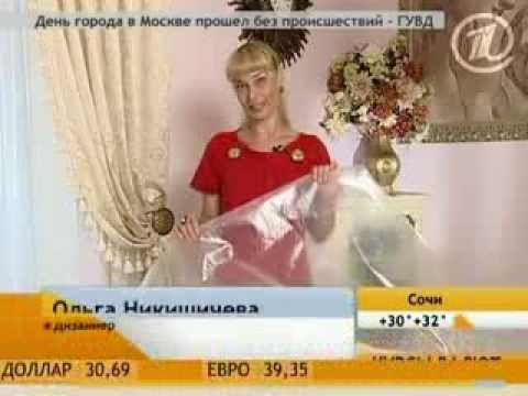045 - Ольга Никишичева. Плащ-дождевик своими руками - YouTube