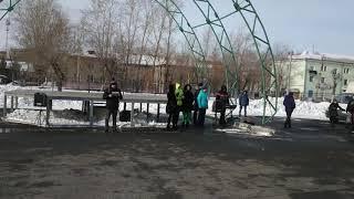 Митинг обманутых дольщиков Речелстроя 2 марта