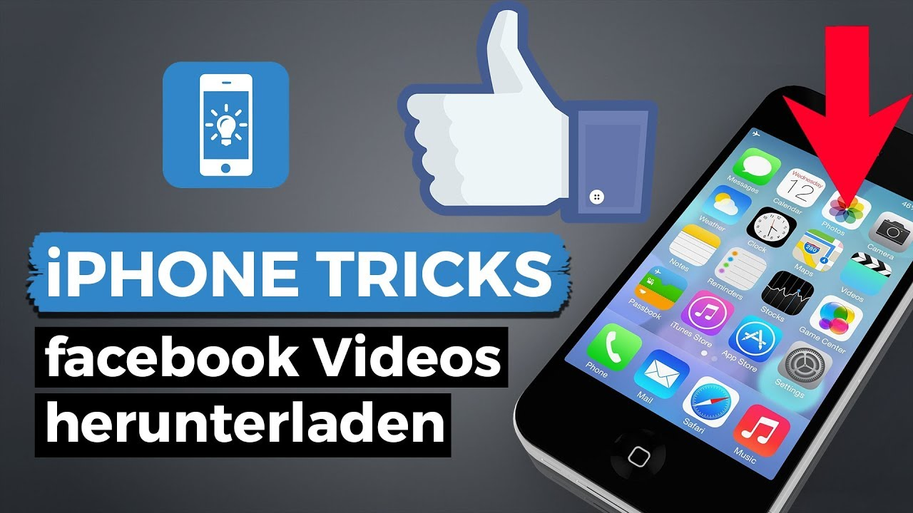 Facebook Videos Speichern Am Iphone - Bilder Herunterladen