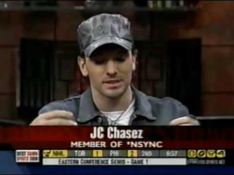 JC Chasez on the Best Damn Sports Show Period (April 22, 2004)