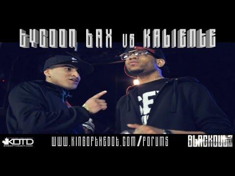 KOTD - Rap Battle - Tycoon Tax vs Kaliente