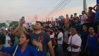 Protestas por reformas al INSS en Managua