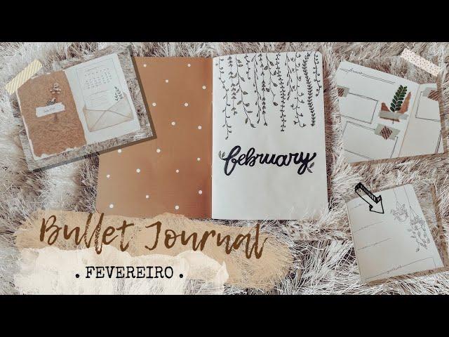 Bullet Journal - FEVEREIRO
