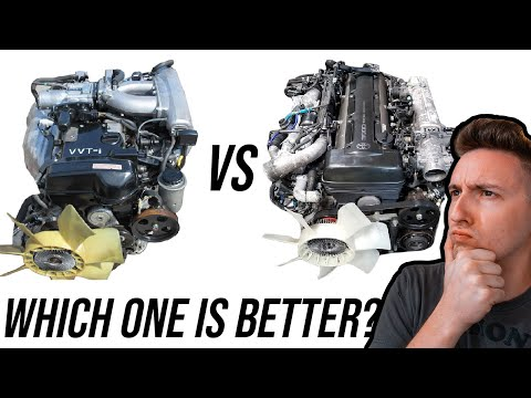 2JZ-GE vs 2JZ-GTE: Which One is Really Better?