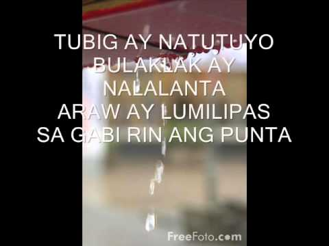 SAMPAGUITA   TAO with lyrics