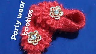 new knitting design booties|baby booties|baby socks|7 month baby booties