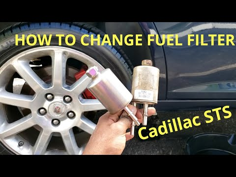 How to Replace Fuel Filter Cadillac STS