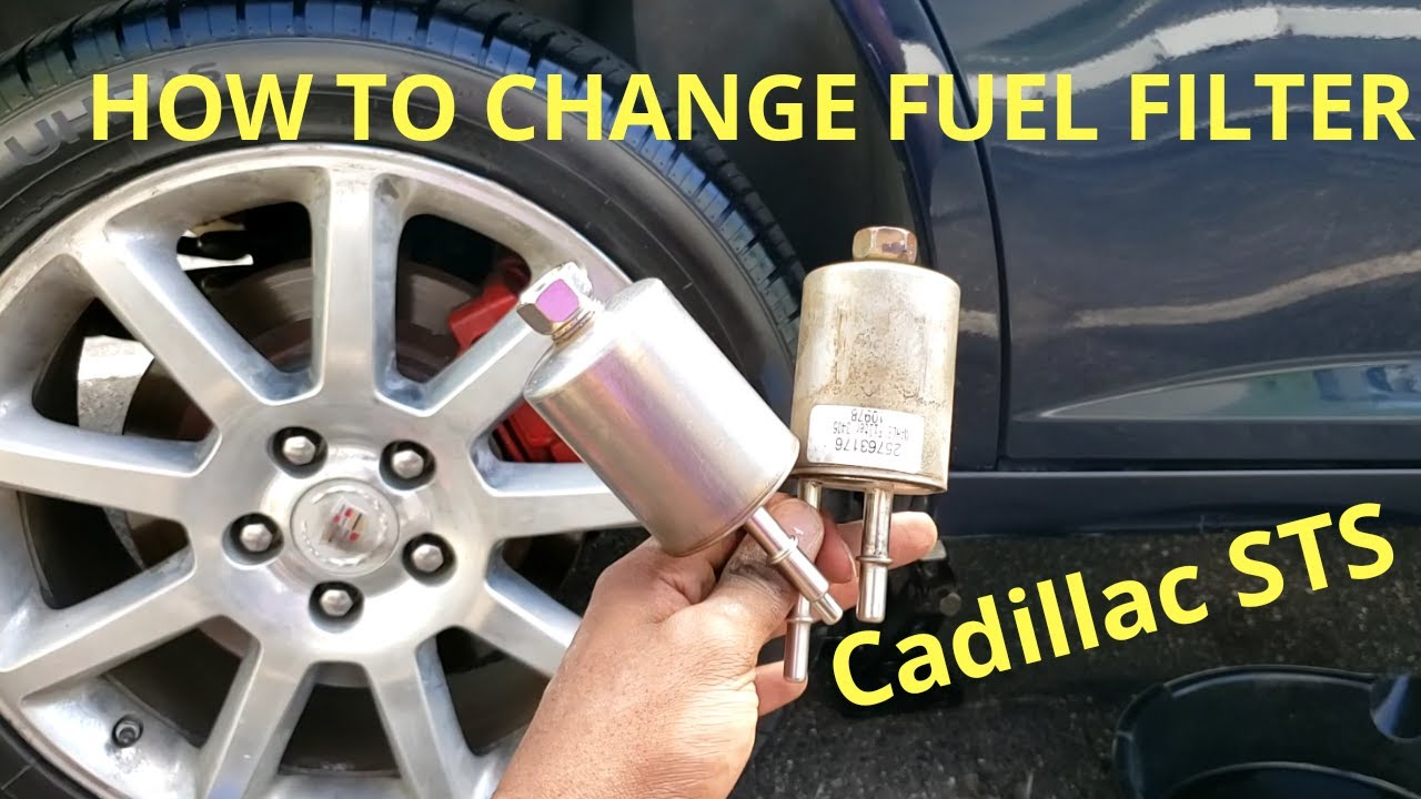 [SCHEMATICS_48IU]  How to Replace Fuel Filter Cadillac STS - YouTube | Cadillac Sts Fuel Filter |  | YouTube