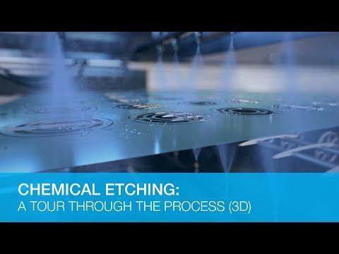 化学蚀刻:通过过程的巡回赛(3D动画)
