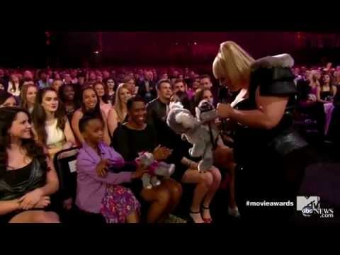 MTV Movie Awards Recap_ Rebel Wilson Shines, Aubrey Plaza Storms Stage To Take Will Ferrell's Award