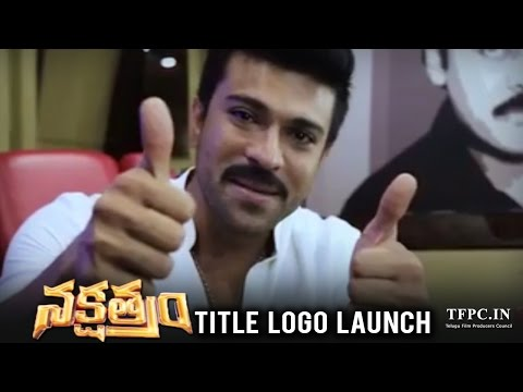 Thumbnail: First Look Of Nakshatram Movie Logo Launched By Ram Charan | TFPC