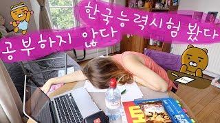 🇰🇷TAKING TOPIK II WITHOUT STUDYING! | 공부하지 않고 한국어능력시험 봤다!